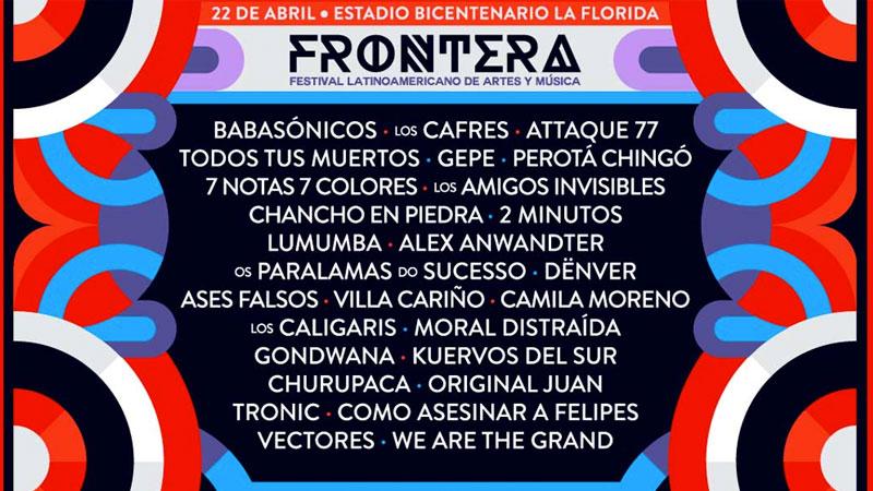 Babasonicos Frontera Festival 2017