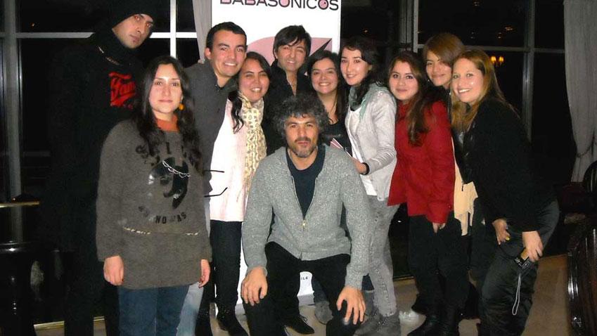 Fans de Babasónicos en Chile