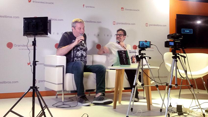 Roque Casciero habla de Arrogante Rock en la Feria del libro de Buenos Aires