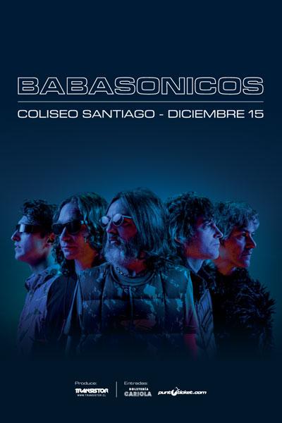 Babasónicos en Chile Nuevo Disco Teatro Coliseo