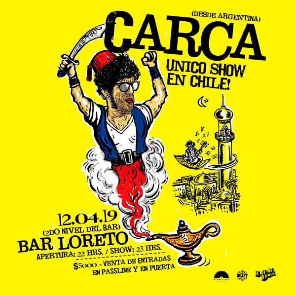 Carca Bar Loreto Babasónicos