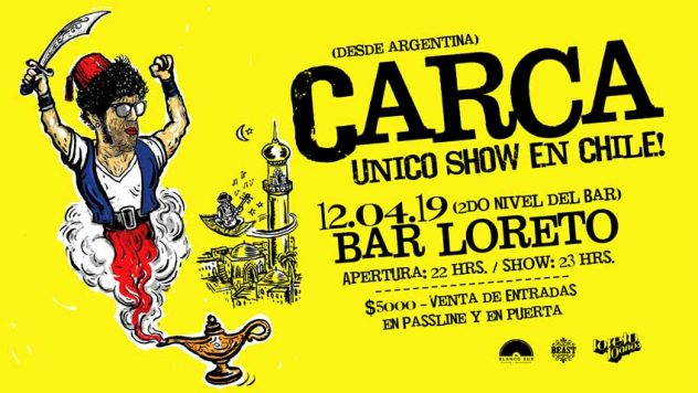 Carca Bar Loreto Concurso