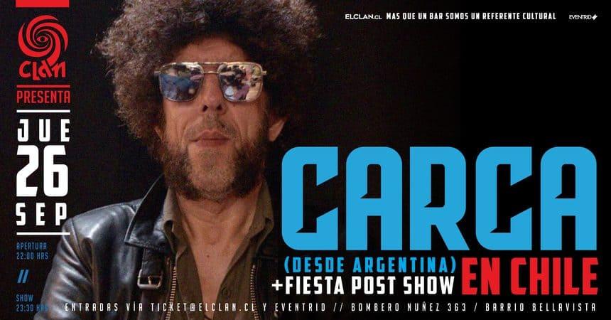 Carca en Bar El Clan: El Teacher regresa a Chile en septiembre